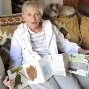Sara Jean Gray with book