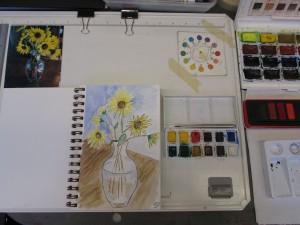art class -- 6-19-14 afternoon