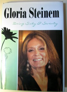 Gloria Steinem book cover