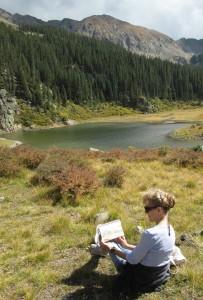 Painting Williams Lake