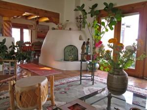 Inside Madeleine's Taos home