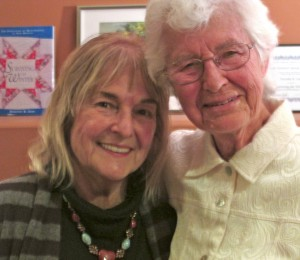 Lorraine Ciancio (left) and Dorothy Zopf at the recent Taos Retirement Village event