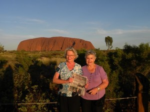 Wendy (left) and her friend (of 64 years) Marcia in Australia, 2014