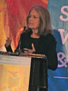 Gloria Steinem (2) at SMA Writers Conference
