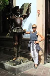 Guanajuato -- Don Quixote statue