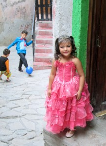 Guanajuato -- princess in pink dress