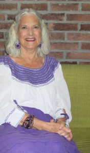 Susan during our interview at the Instituto last week