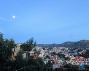 Moon over Guanajuato