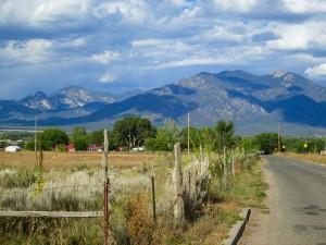 Taos Mountain welcoming me home