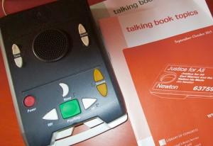 My own talking books machine