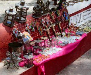 Local artisans' handiwork
