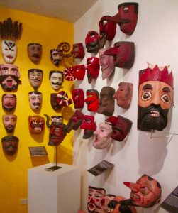 Among the 500+ masks in the museum