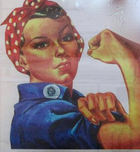 """""""We are women and we are strong."""""""